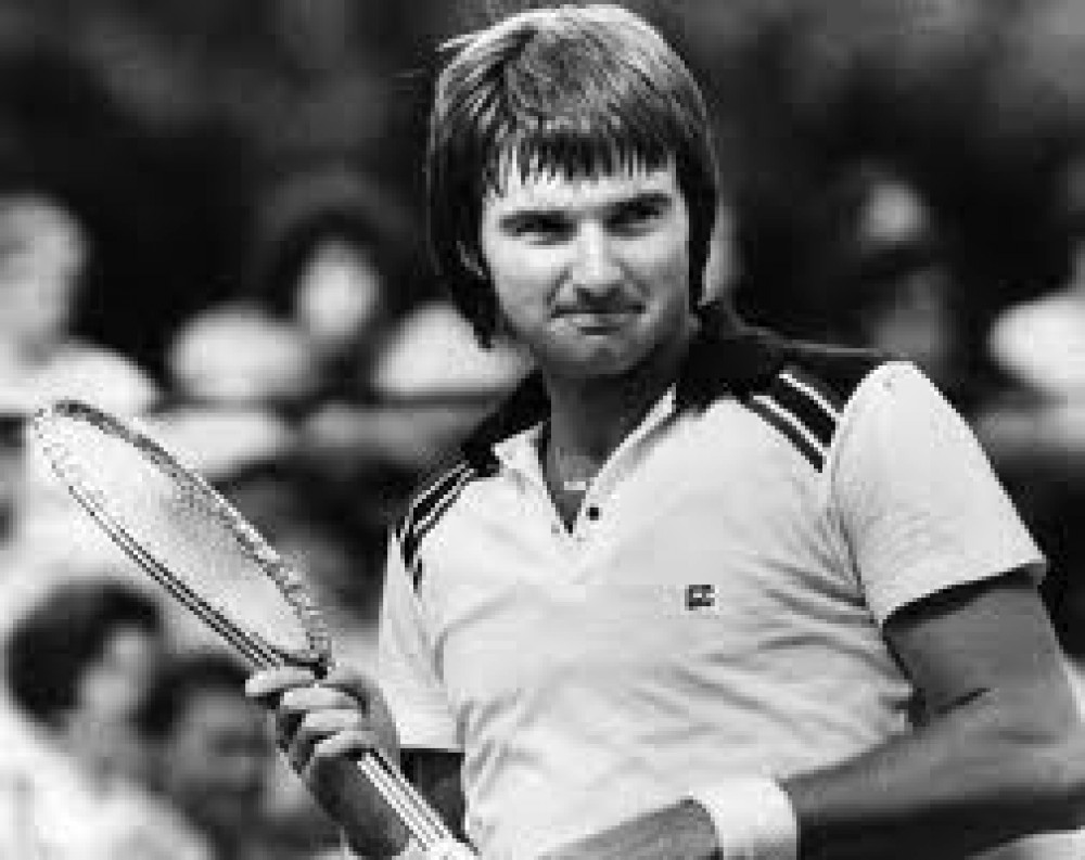 Tennis Legends Jimmy Connors