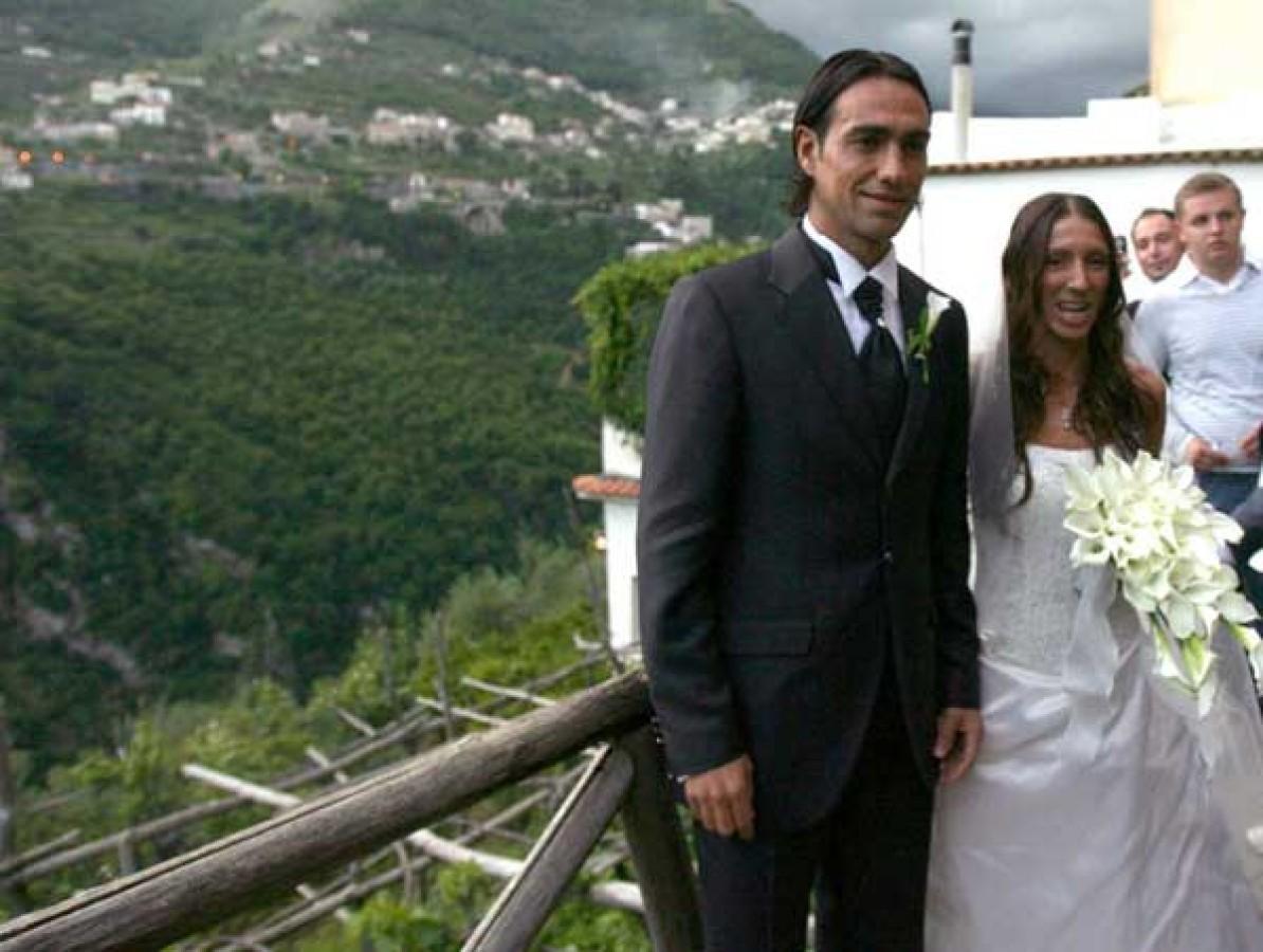 Алессандро неста с женой фото